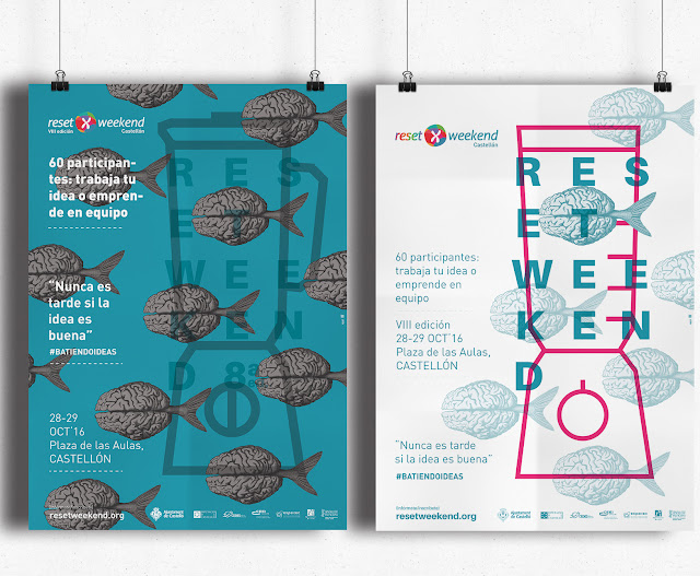 RESET WEEKEND VIII carteles
