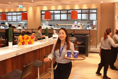 Meet Rachel, manager at Carluccio's Mall of Qatar, which opens today.