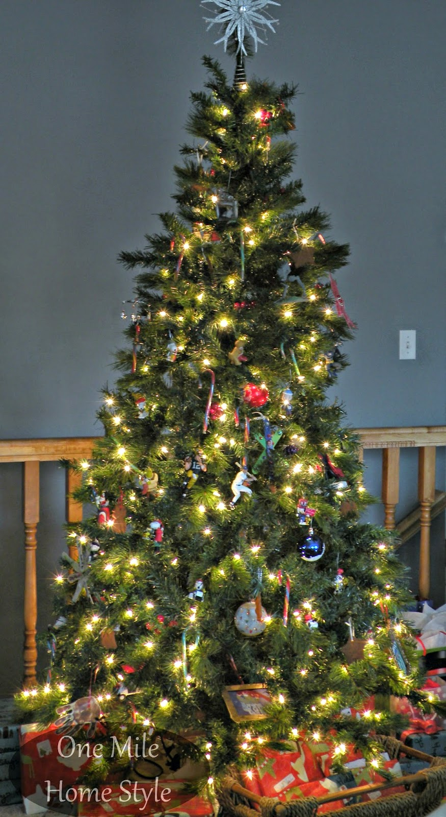 One Mile Home Style Christmas Tree 2014