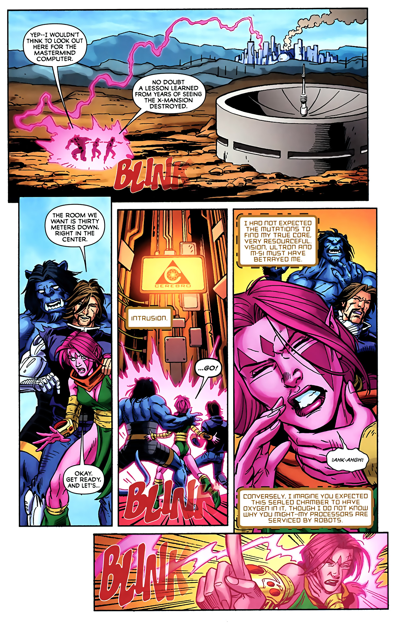 Read online Exiles (2009) comic -  Issue #5 - 15