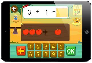 App para aprender matemáticas: sumas y restas con Kely contar Infantil padres madres