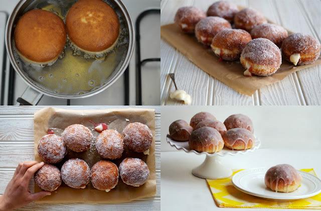 أسهل طريقة لعمل أشهى الدونات بالكاسترد مع موقع عالم الطبخ والجمال!