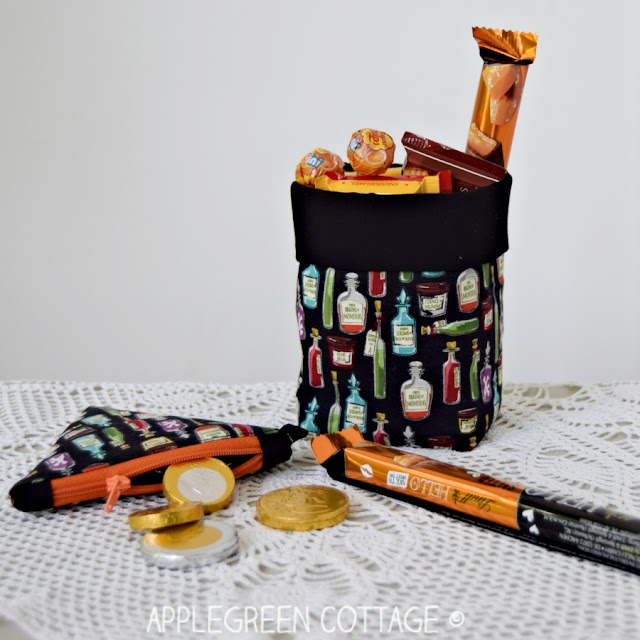 Halloween home decor sewing project