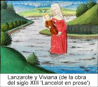 Lanzarote y Viviana, de la obra 'Lancelot en prose'