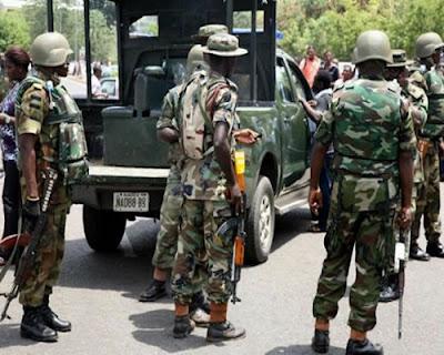 Troops intercept three Boko Haram terrorists at IDPs' camp in Borno