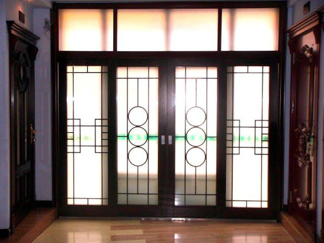 Decorative Windows Frame and Door Made of Leather Decorative Windows Frame and Door Made of Leather 7