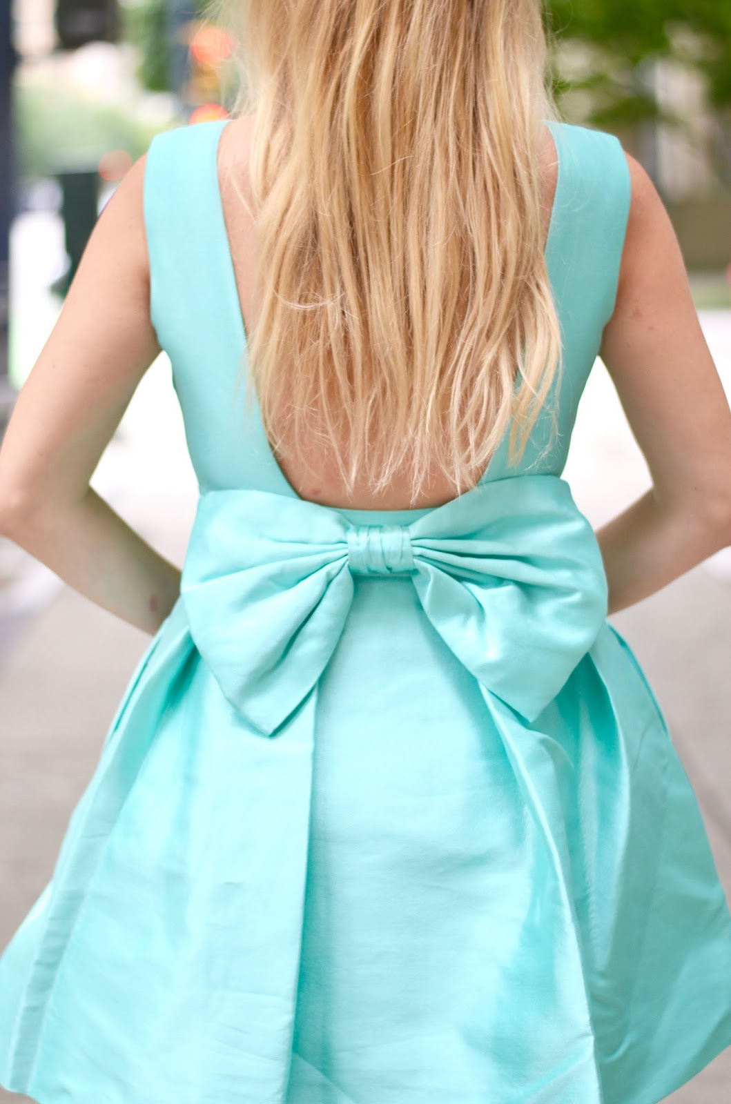 mint kate spade dress