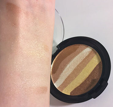 wet n wild coloricon Rainbow Highlighter Bronze Over the Rainbow swatch