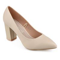 Pantofi eleganţi de damă,de culoare bej cu branţul din piele naturală.