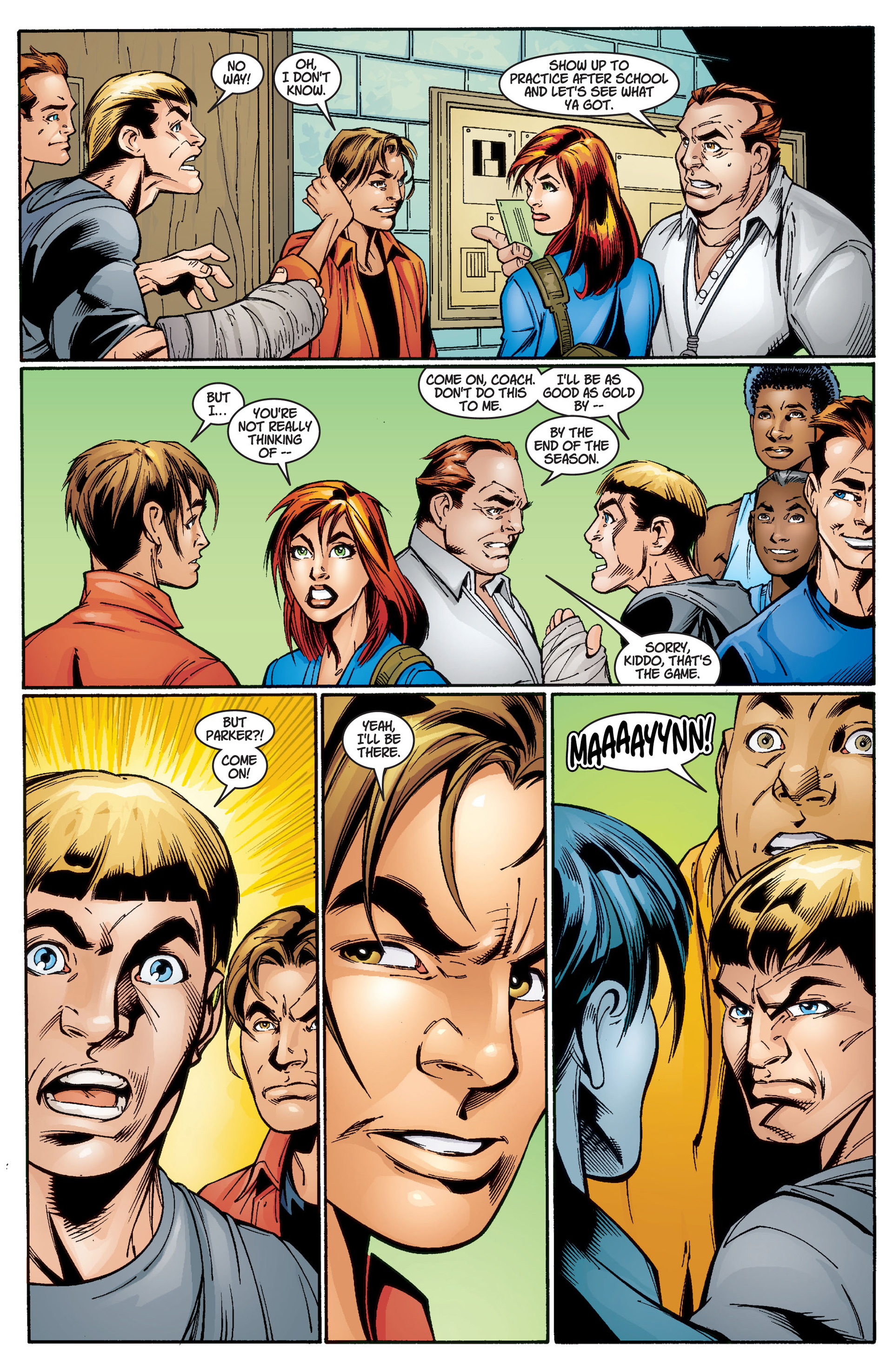 Read online Ultimate Spider-Man (2000) comic -  Issue #3 - 14