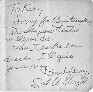 Autograph of Jay Curtis as Sal U Lloyd