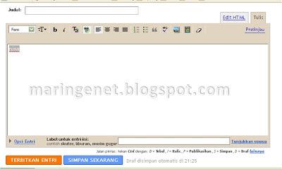 Tampilan Lama Blogger