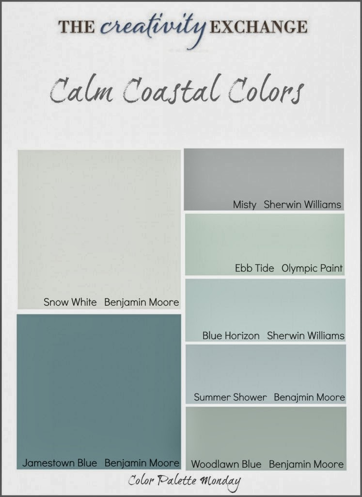 Stylishbeachhome Com Paint Your Home With Coastal Colors