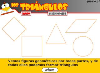 http://www.primerodecarlos.com/TERCERO_PRIMARIA/mayo/Unidad12/matematicas/actividades/triangulos2.swf