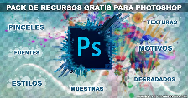 Mega pack de recursos para Adobe photoshop totalmente gratis | 1link