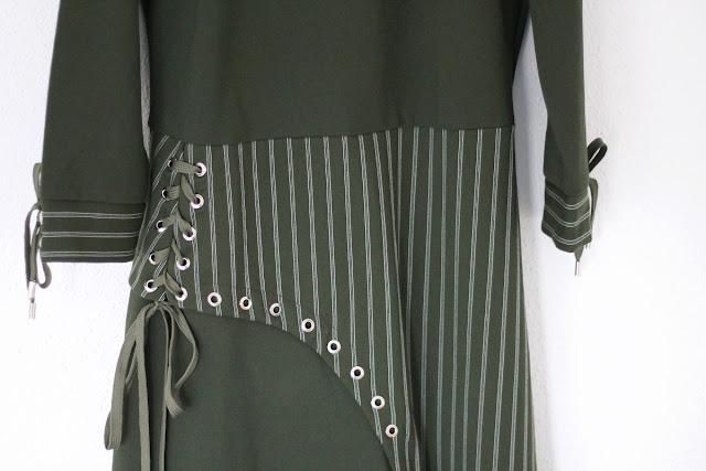 metisu olive dress