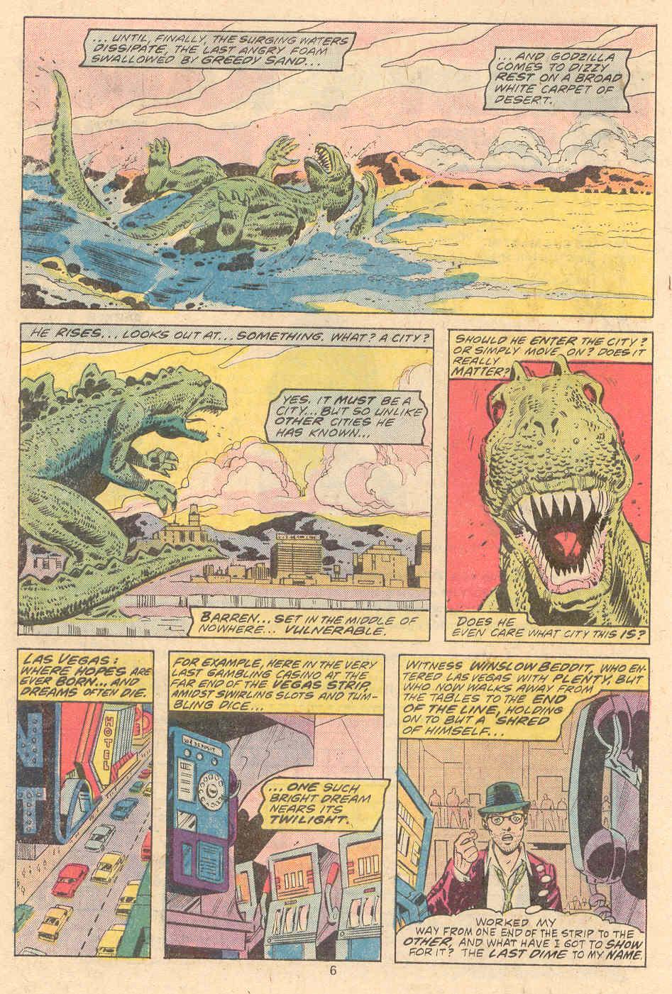 Godzilla (1977) Issue #9 #9 - English 5