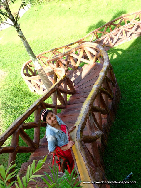 stairs at San Juanico Gulf and Country Club