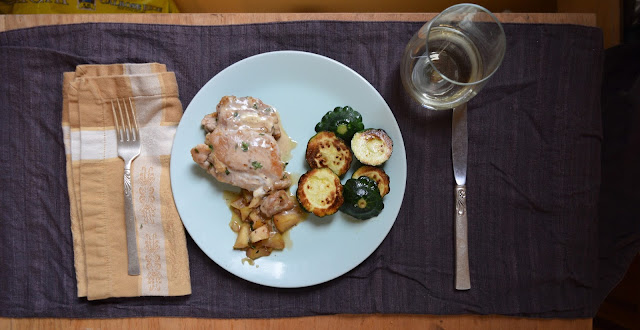 Apple Cider Chicken from The Perfect Diabetes Comfort Food Collection by Robyn Webb