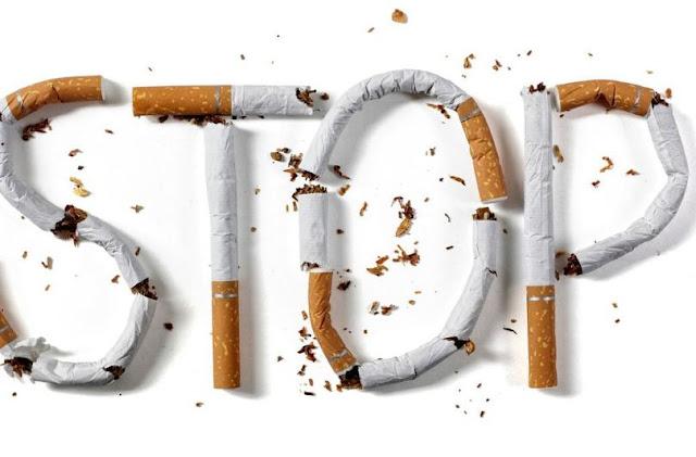 Ilustrasi foto stop atau berhenti merokok