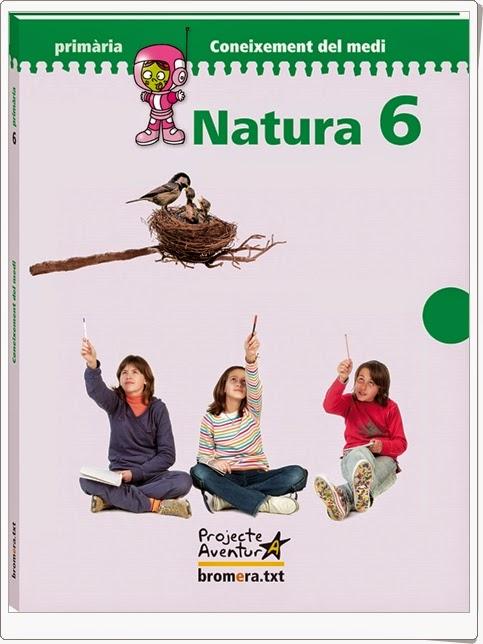 """""""Natura 6"""". Actividades digitales de Conocimiento del Medio de 6º de Primaria. Ediciones Bromera."""