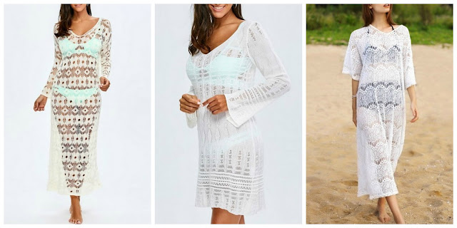My Zaful Wishlist: Womens swimsuit cover ups