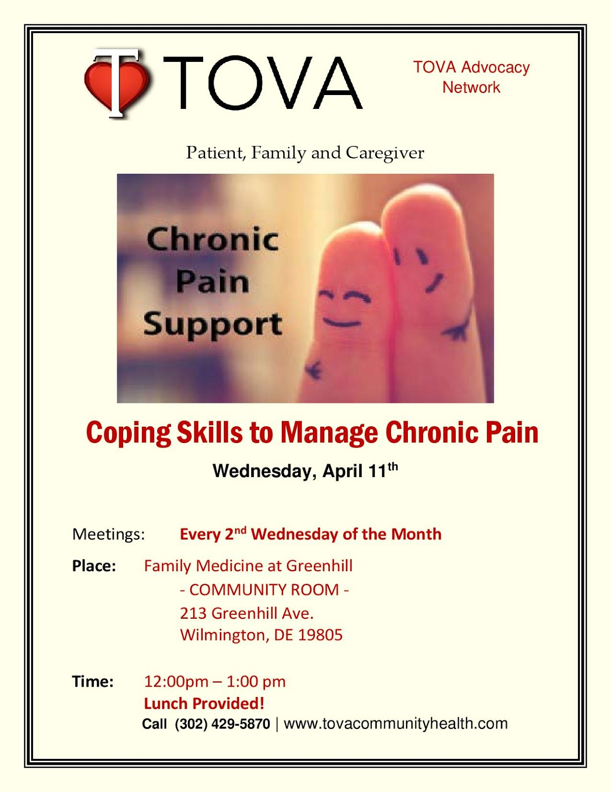 Chronic Pain Support Coping Skills To Manage Chronic Pain