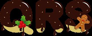 Abecedario Navideño Bañado en Chocolate. Christmas Alphabet with Chocolate.