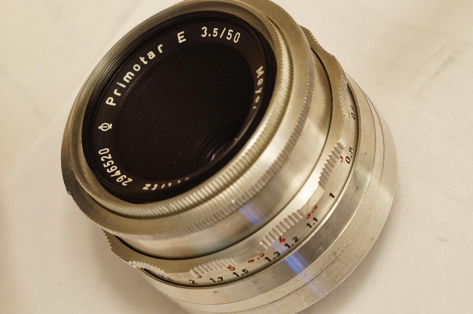 Meyer-Optik Görlitz Primotar E 3.5/50 sample