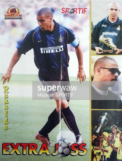 RONALDO INTER MILAN 2001