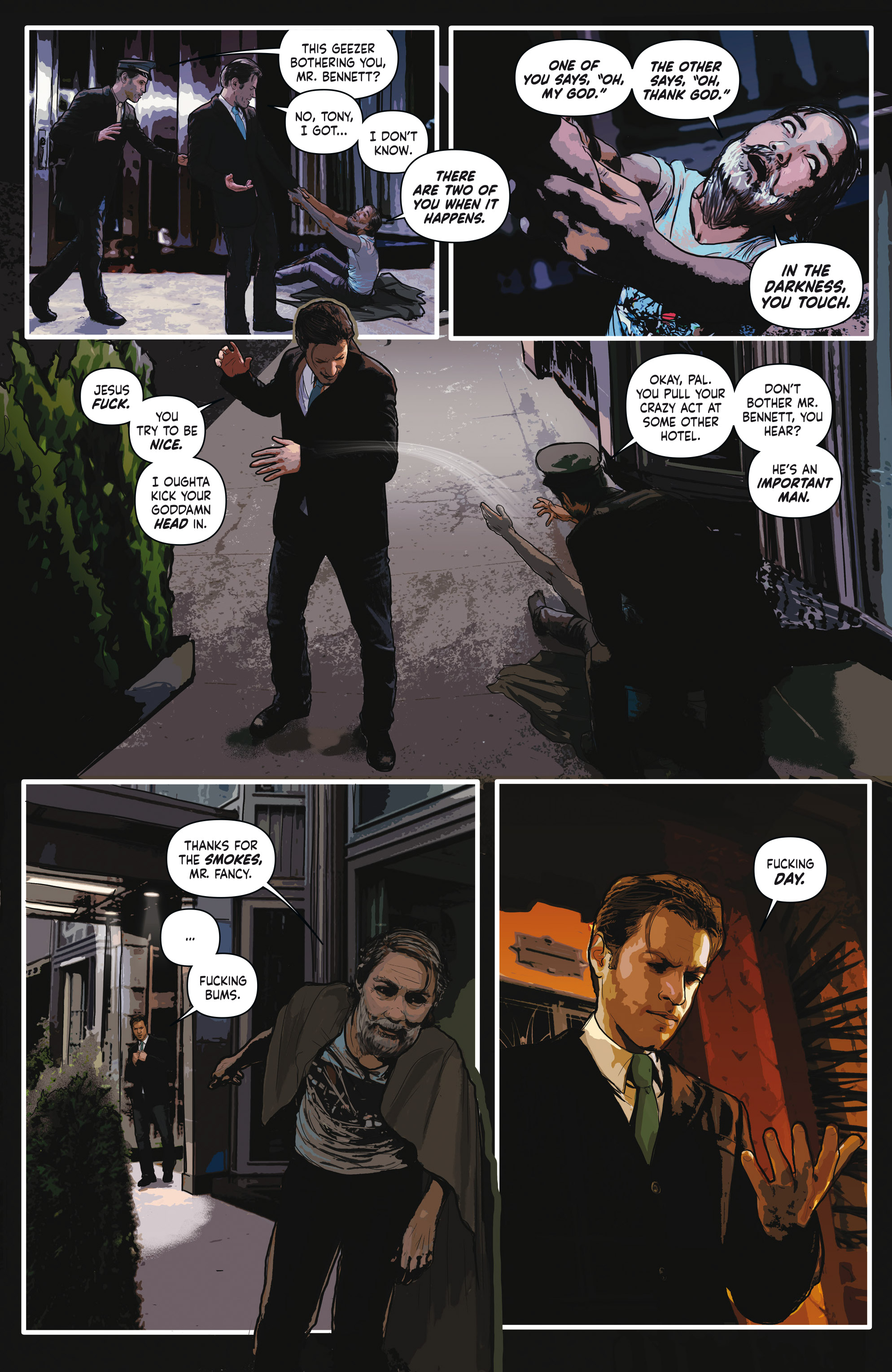 Read online Crosswind comic -  Issue #1 - 14