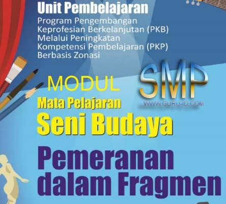 GAMBAR Modul PKP Seni Budaya SMP
