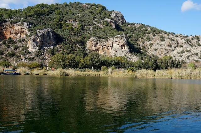 Dalyan výlety na lodi, Kaunské hrobky