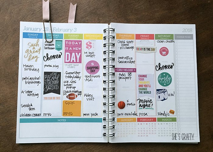 planner, planner stickers, chores, sports stickers