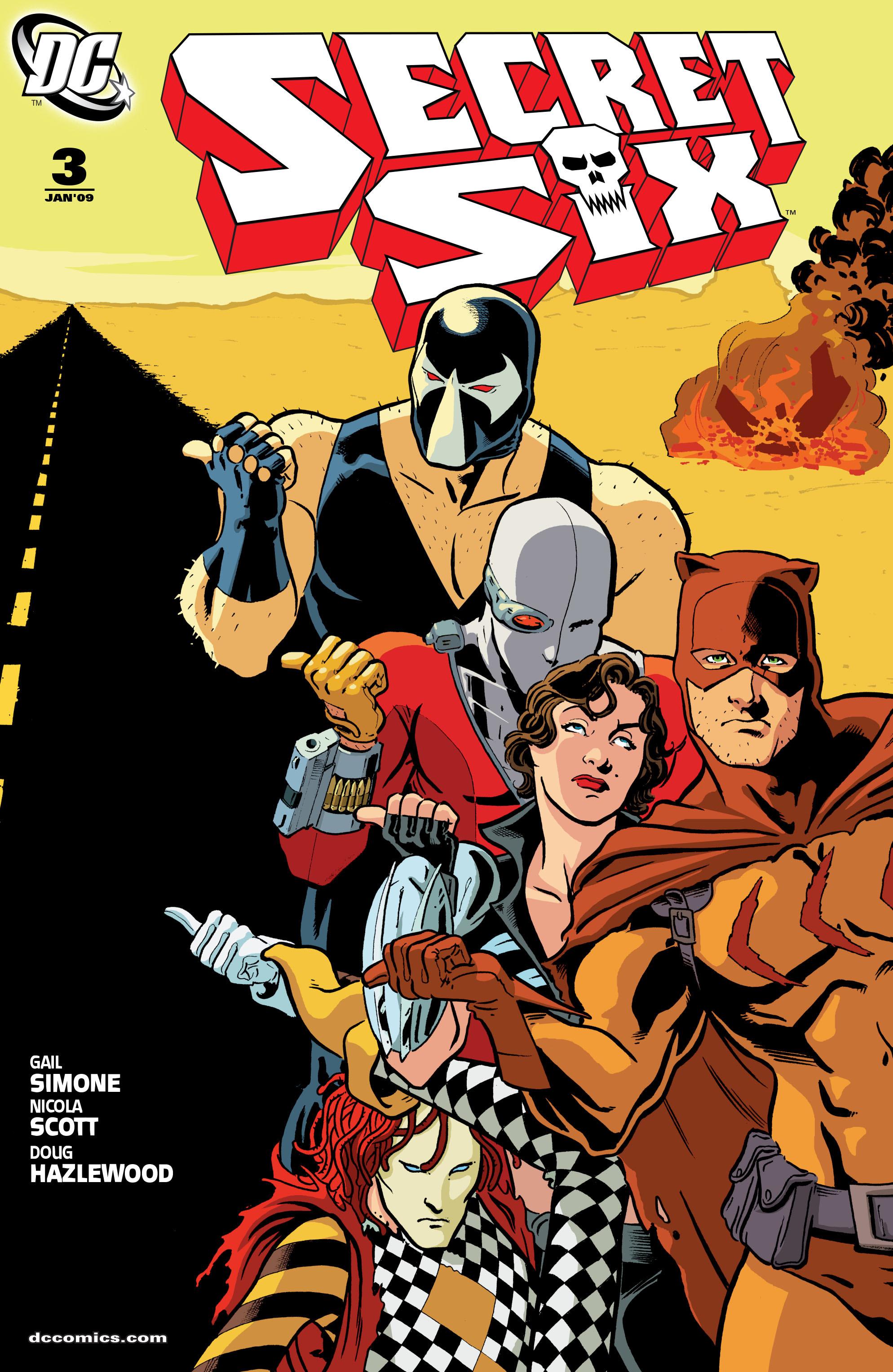 Read online Secret Six (2008) comic -  Issue #3 - 1