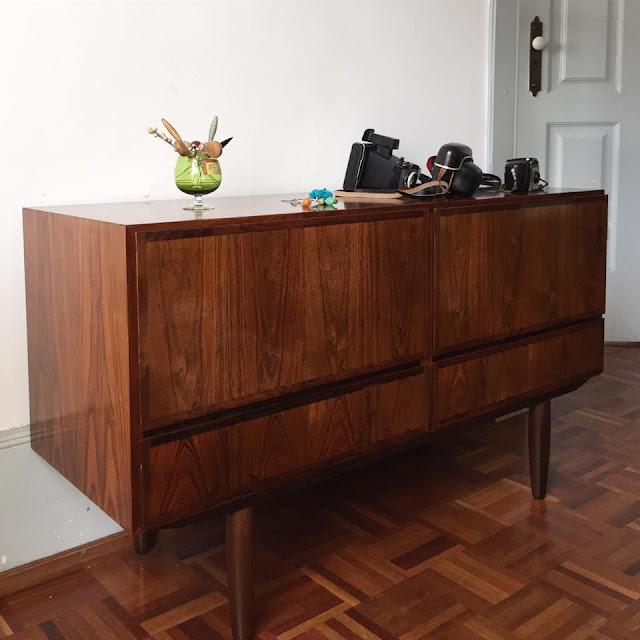 nórdico, vintage, pau santo, móvel vintage, a Porta Verde