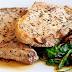 Pork With Mushrooms And Arugula Recipe