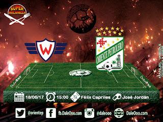 Wilstermann vs Oriente Petrolero - Fecha 20 Apertura 2017 - Super Milaneza - DaleOoo