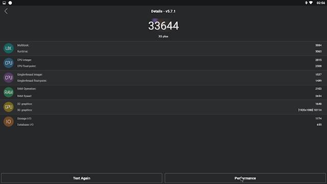 Análise Artway X6 uma Rockchip 3368 para o KODI 18