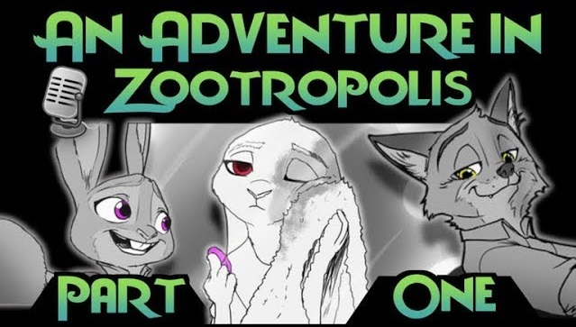 Comic Dub: An Adventure in Zootropolis [Part One] (by Cas VoiceActs)