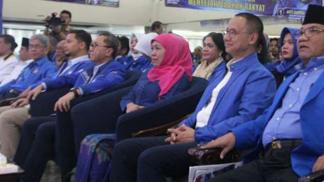 Khofifah Ungkap Peran PAN dalam Kemenangannya di Pilgub Jatim