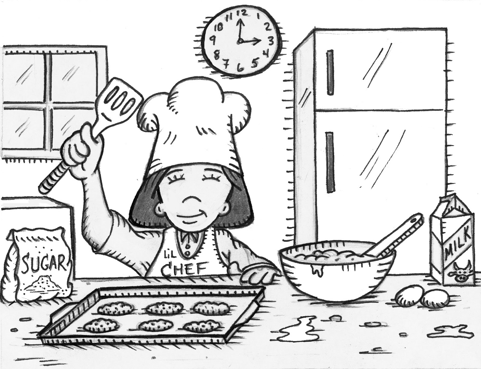 Grandparents Teach Too Easy Cooking With Children