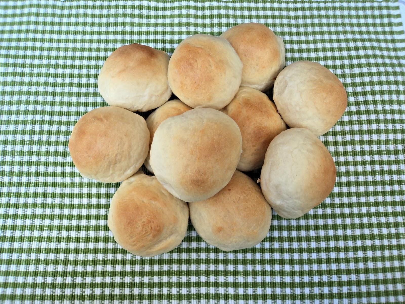 receta casera bollitos, pan, leche avena