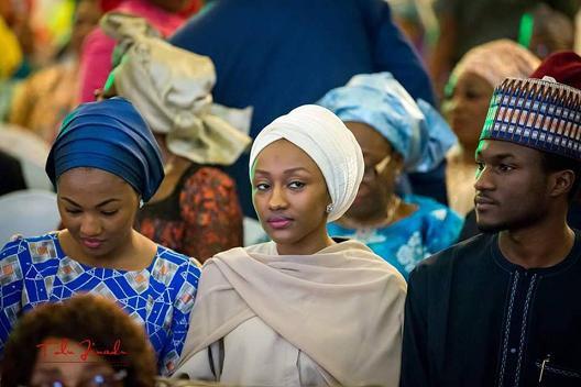 Old photo of Aisha Buhari and her kids