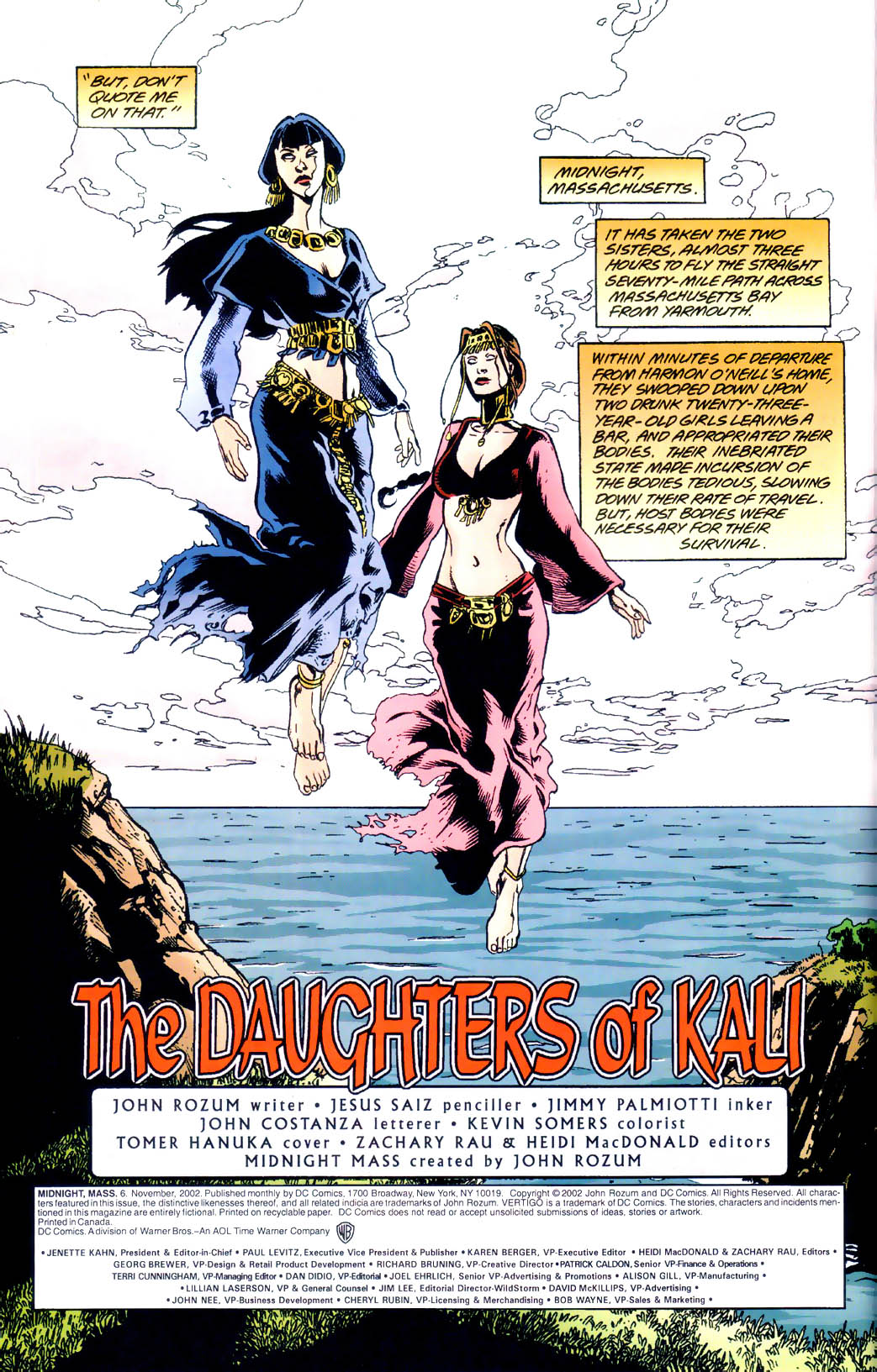 Read online Midnight, Mass comic -  Issue #6 - 5