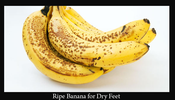 ripe-banana-for-dry-skin-on-feet