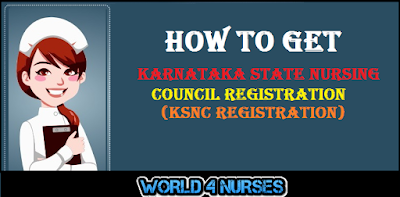 How to get Karnataka State Nursing Council Registration (KSNC Registration)