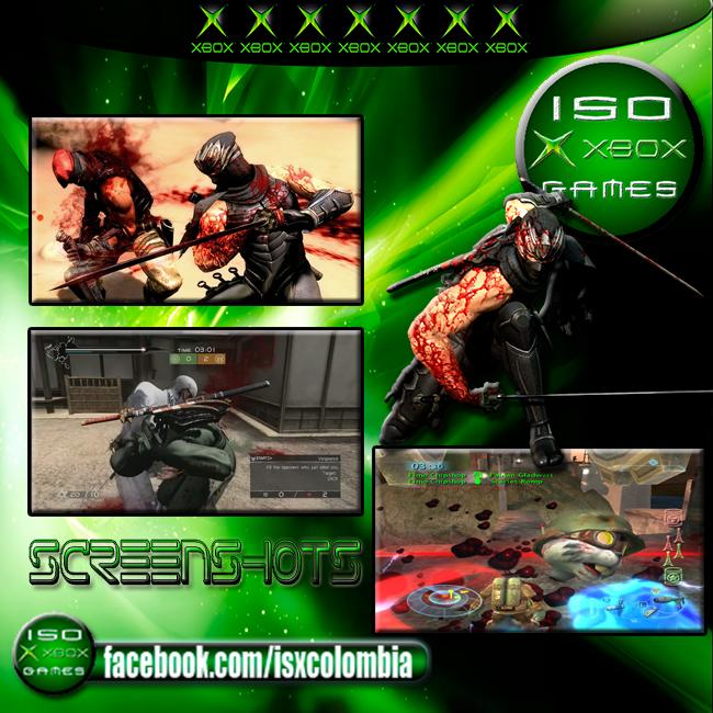 Nija Gaiden Xbox Clasico Iso Xbox Games Bienvenida