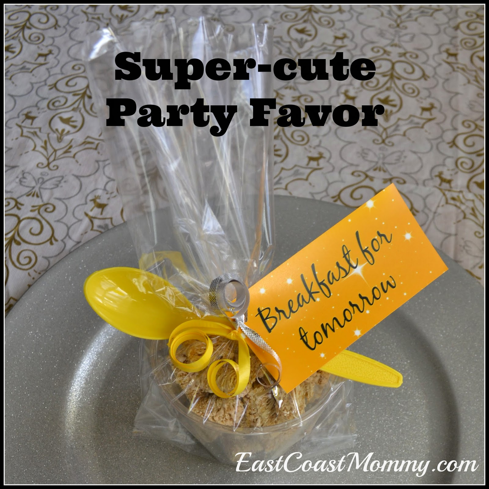 East Coast Mommy: Super-cute Party Favor {Breakfast for ...