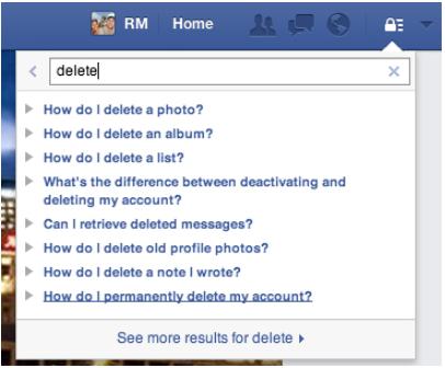 How do i cancel my facebook
